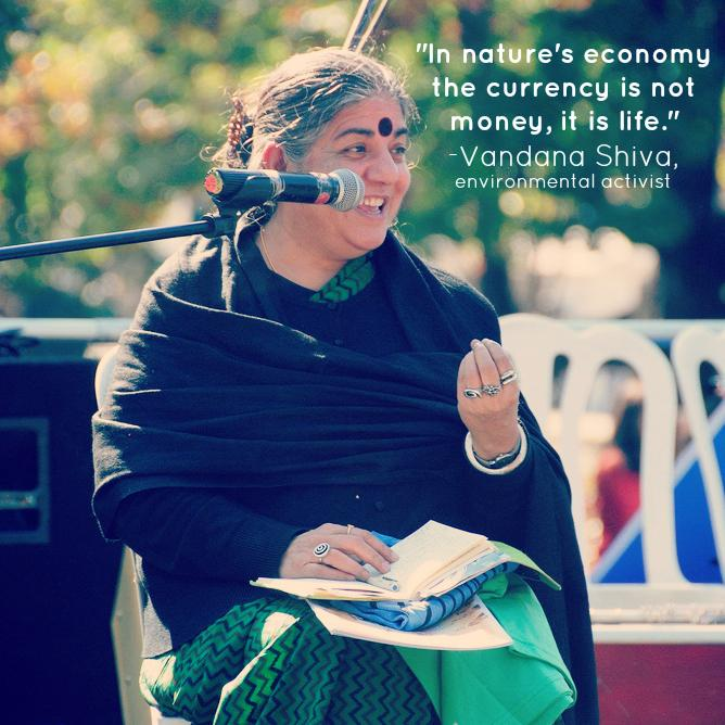 Recognizing #environmentalactivist Vandana Shiva in honor of #InternationalWomensDay: http://t.co/01afV176PF http://t.co/EUFJKCaydU