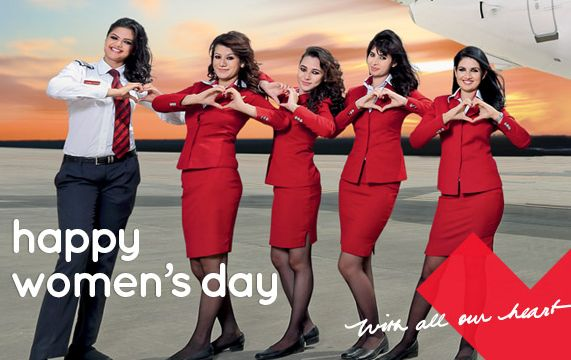 SpiceJet operating 16 all-women crew flights for #InternationalWomensDay http://t.co/EQqz3B5PLs h/t @neelammathews http://t.co/Z16zQ3Ptfy
