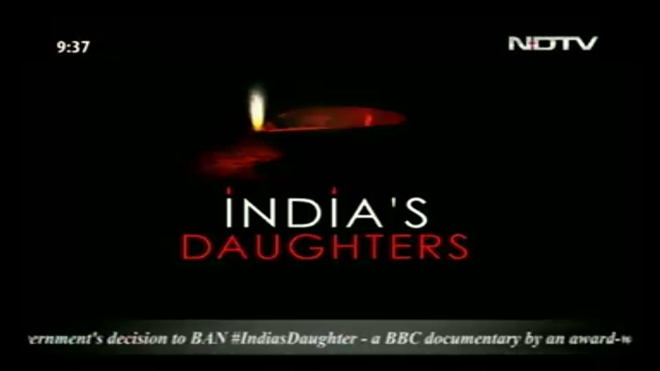 Anna MM Vetticad (@annavetticad): My TV is on #NDTV from 9pm till the end of the protest. Will the govt force me to switch channels? #IndiasDaughter http://t.co/r7yfhVwpNq