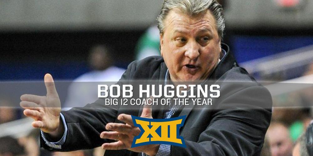 #Big12MBB: @WVUhoops' Bob Huggins earns the #Big12 Coach of the Year award - http://t.co/1LAif9B6sV http://t.co/zroQmO5kFQ