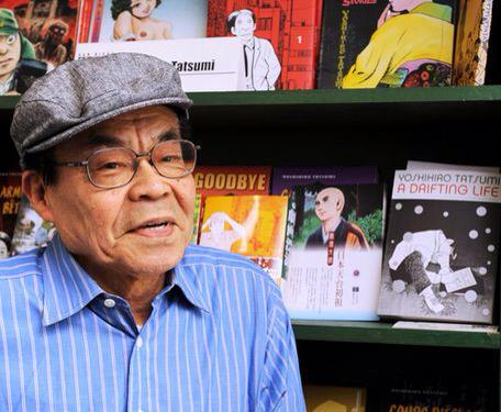 Greatly saddened to hear that manga master Yoshihiro Tatsumi has died, age 79. #tatsumi http://t.co/AGJL6SD6mY http://t.co/9WVB0jxYCV