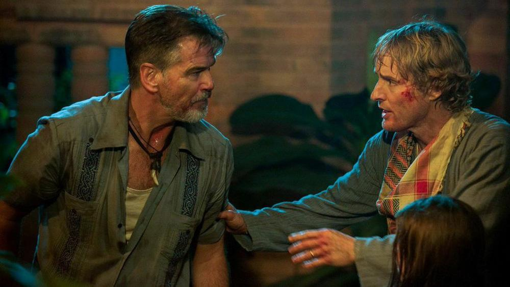 Owen Wilson gives James Bond a run for his money in the NoEscape trailer