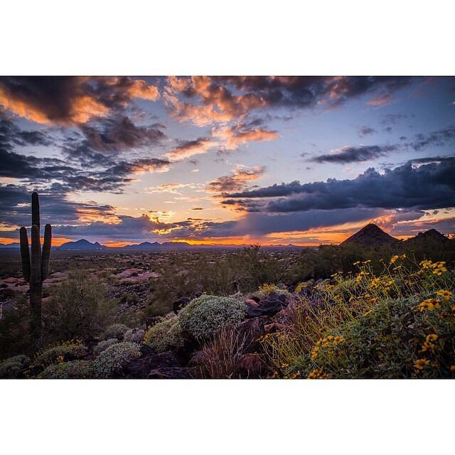 Tag someone you'd love to be sharing this Phoenix sunset with below! Photo by MatadorN re…