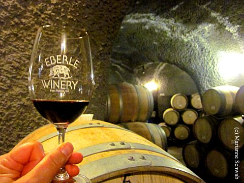 Cheers! Eberle Winery caverns in Paso Robles are a must see for #California wine tasting. http://t.co/AuXs3N3IWm
