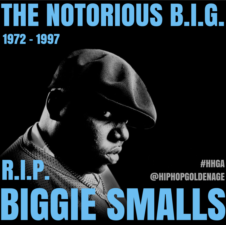 "Gone 18 years today: Christopher ""The Notorious B.I.G."" Wallace #RIPBiggie http://t.co/8ABq7z0F7n"