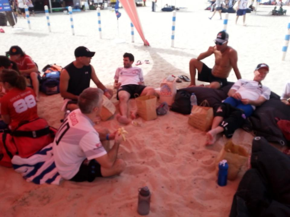 Currently undefeated! Beat Currier Island 10-7  start tournament.  Lunch now, US @ 3. #wcbu2015 #CAN #GRM #tcbeach15 http://t.co/DzKRpFJq57 <a href='http://twitter.com/WCBU_TC_GM/status/574866134467354625/photo/1' target='_blank'>See original »</a>