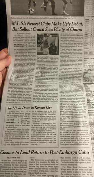 This has to be a first: all 3 local teams on the same page at @nytsports #nycsoccerwarz #rbny http://t.co/OJxT5GiS8X