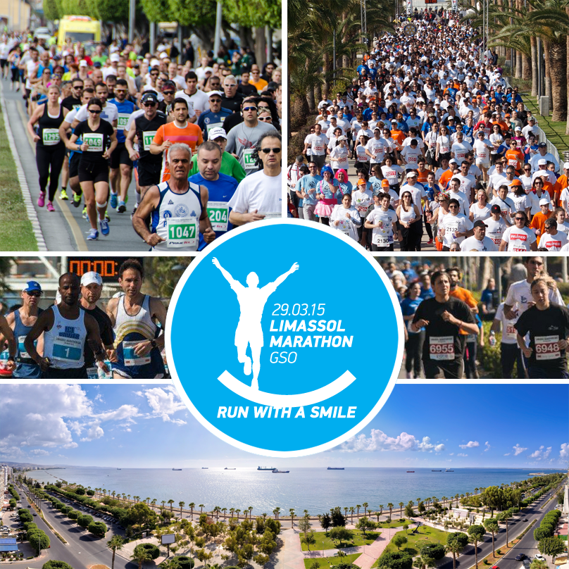 We're supporting the 9th Limassol Marathon &we're ready to @RunLimassol with a smile on 29/03.