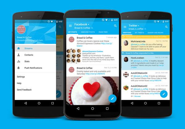 We're excited to announce a new look for the Hootsuite Android app, now with #materialdesign! http://t.co/Vn8FPIUZz6 http://t.co/SZN4YEt6C1