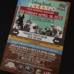 #SouthFlorida TODAY our 1st Annual #DelrayBeach Pet Expo from 10am to 5pm http://t.co/6oWsmgqpiE RT http://t.co/ZEMcxcGdKE #DelrayBeach