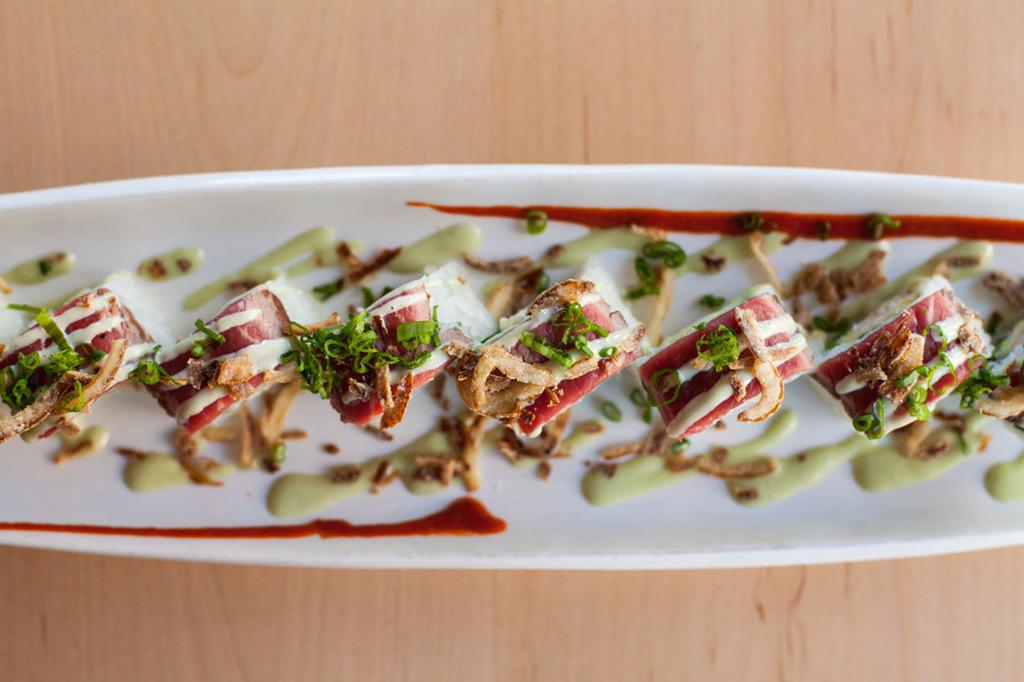 Can't stop thinking about this Senshi roll from @YokozunaYale! Article coming soon! #tulsafood #sushi #yoko http://t.co/NggWVl75oA