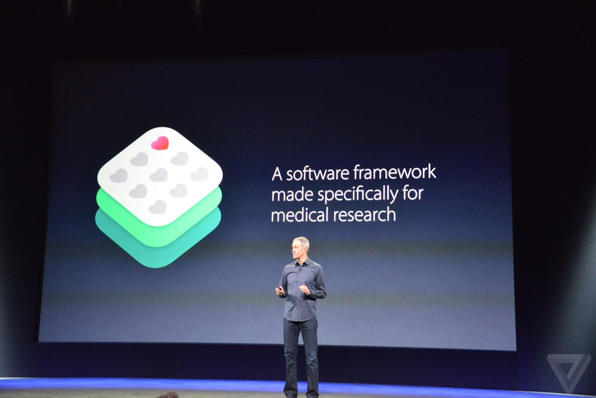 Tommy Lewis (@TommyLee): If you are dismissing Apple's announce around ResearchKit, you are missing the big picture. This is huge. http://t.co/2kn6lmTBdp