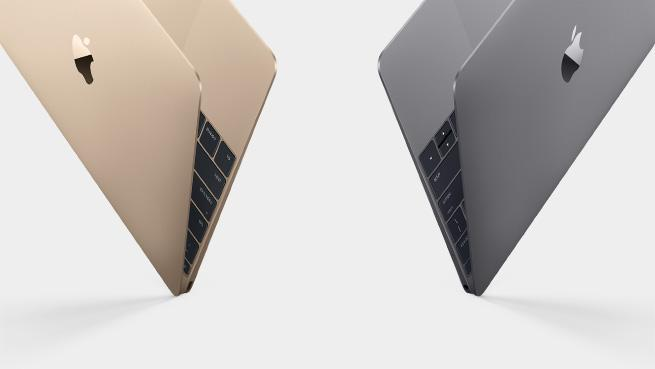 The new MacBook comes in gold and silver. It has a 12-inch Retina display and weighs 2 lbs http://t.co/67xg8OPpr3 http://t.co/PNd5lxBvMG