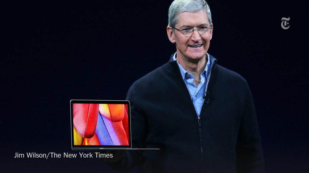 Apple's new MacBook weighs 2 pounds, the lightest Mac ever made. It's also 24% thinner http://t.co/iXT4vyH5Qy http://t.co/J9CYNhmXSf