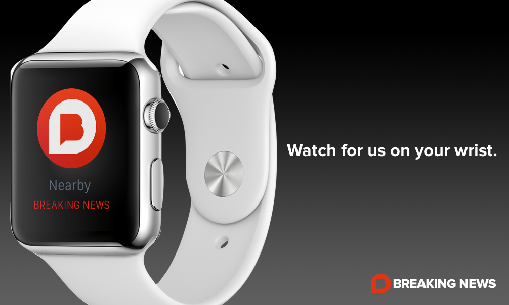 Breaking News on your #AppleWatch, coming soon... http://t.co/azQAG1oMu9