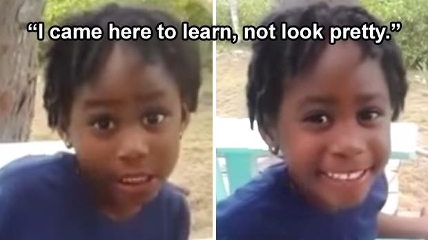 4-year-old girl goes viral with smart comeback for classmate who called her 'ugly' http://t.co/bmiIQXfhLL http://t.co/qZTe9aHPKJ