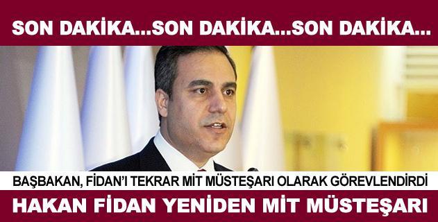Hakan Fidan yeniden MİT Müsteşarı olarak görevlendirildi  Haber Detay: http://t.co/F7gMLxvYxw http://t.co/Q9saZ73VRF