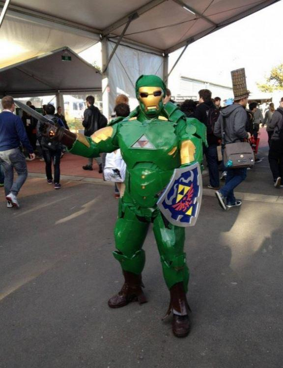 Iron Link #nintendo #cosplay #zelda http://t.co/GjNXWO5r6x