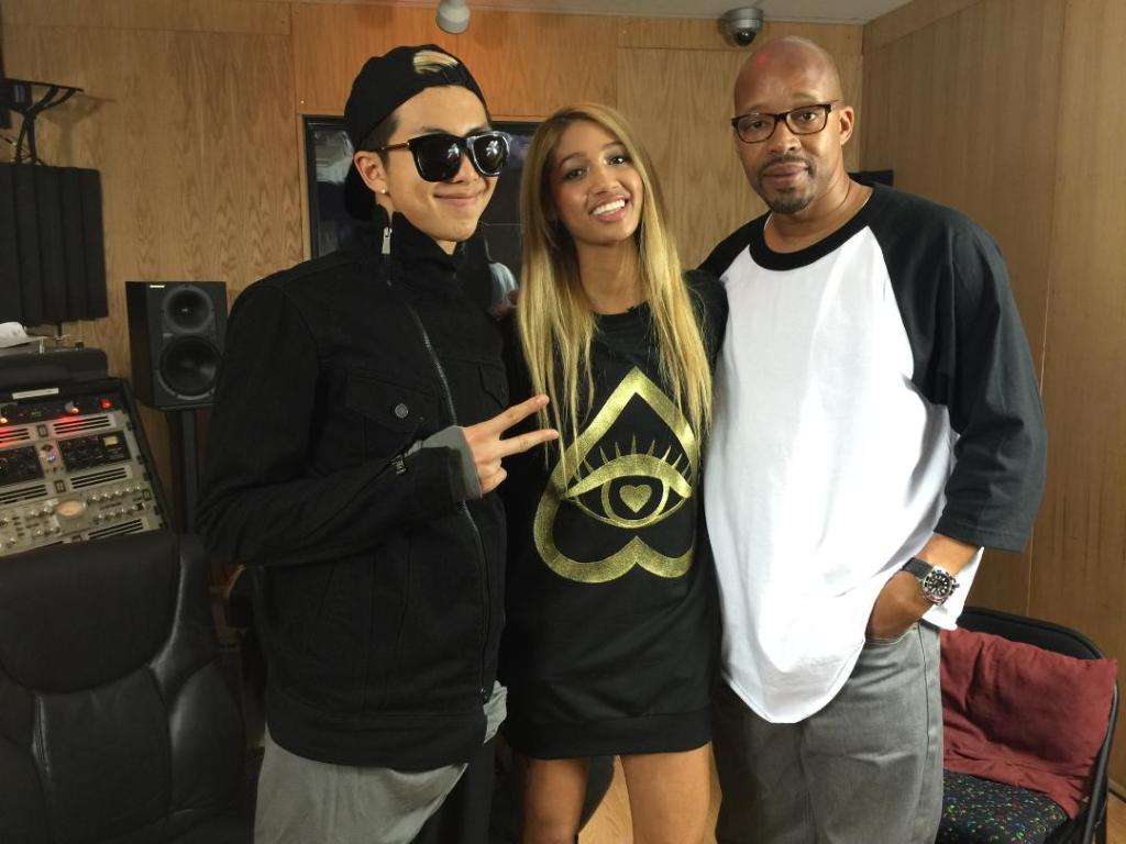 """""""I'm with my man warreng."""" Be sure to listen to #PDD and keep an eye out for our new ep of #EMM ft. #Rapmon! http://t.co/5vqmegehPs"""