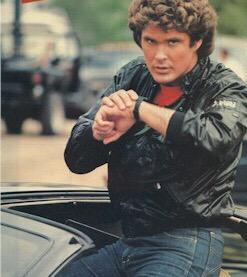 """@ValaAfshar: @DavidHasselhoff was the first guy to speak into his watch and own a self-driving car. True pioneer. http://t.co/jFl0F7wLra"""
