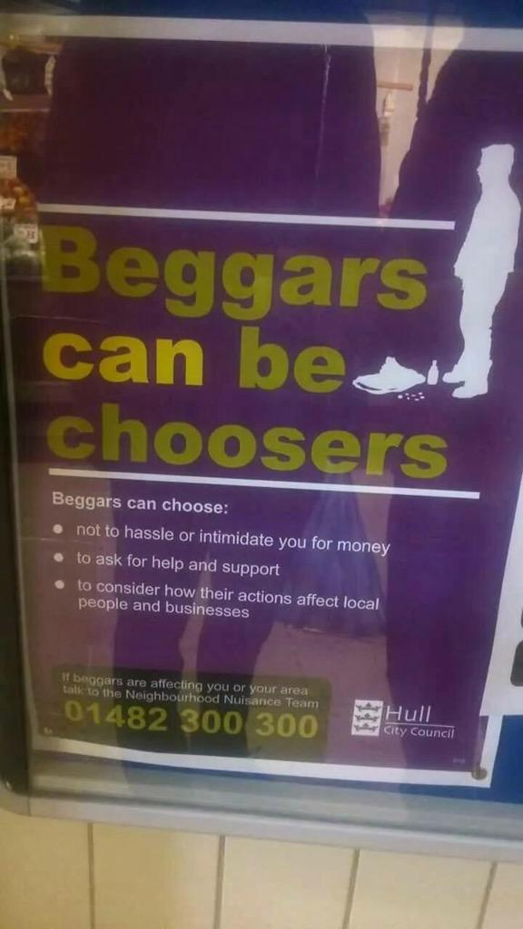 beggars are not choosers essay