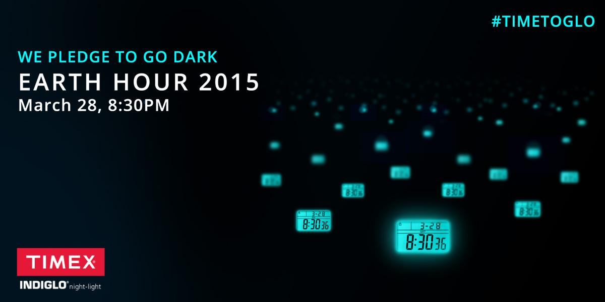 Join the @earthhour movement & for every shared pledge we will donate $1. http://t.co/nYDTughrPm #TimetoGLO. http://t.co/scxDq78aBG