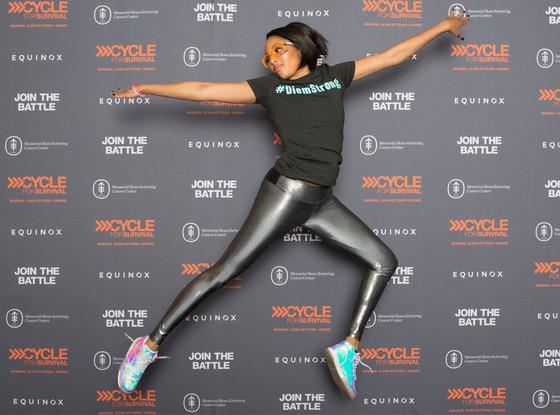 DiemStrong! Alicia Quarles, Ethan Zohn and more cycle for survival in memory of Diem Brown: