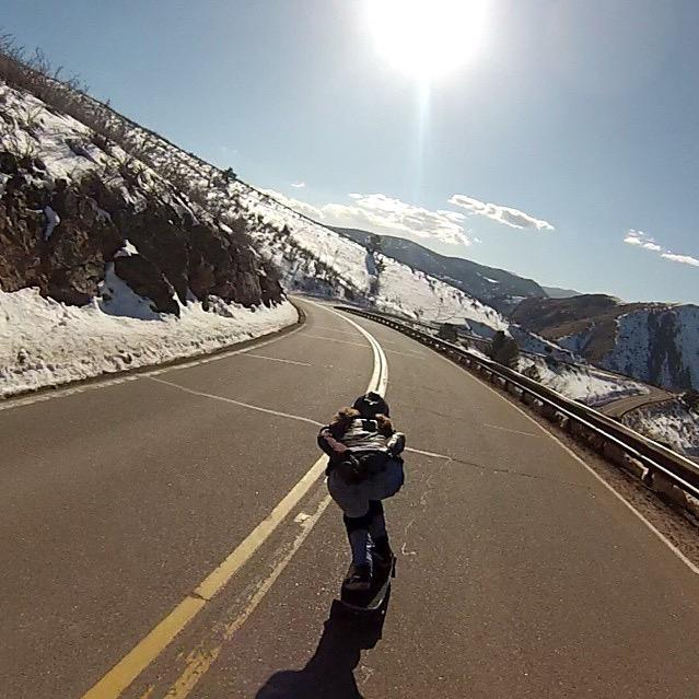 Our @spokywoky is happy the sun finally came out in Colorado. Enjoy buddy! Kyle Wester photo. http://t.co/5h3W6k6wZ6