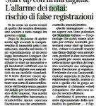 #chititutela, autocertificazione elettronica x #startup innovative contraria a indicazioni #UE http://t.co/rF1Kmjzw96