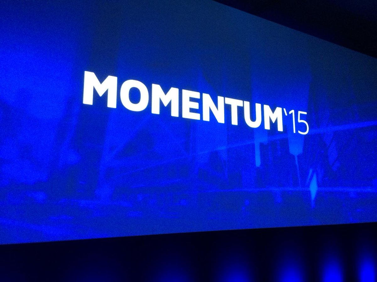 MOMENTUM'15 kicks off today with companies looking to go 100% digital. Join the conversation via hashtag #DSM15 now! http://t.co/vzIU4ZrnCM
