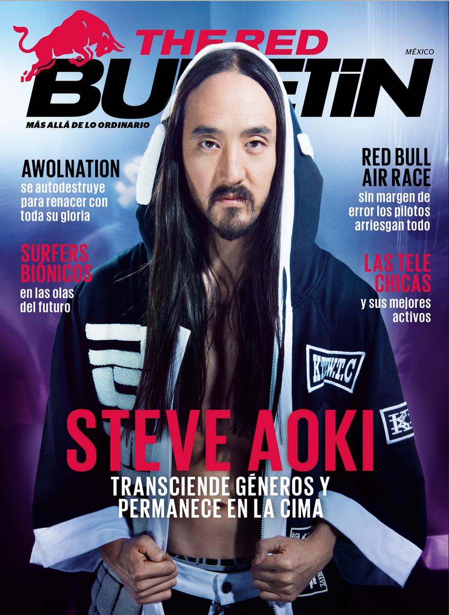 ¿Cómo ves la portada de abril de #RedBulletin con @steveaoki? ¿Ya tienes tu copia? http://t.co/eywUaN062y