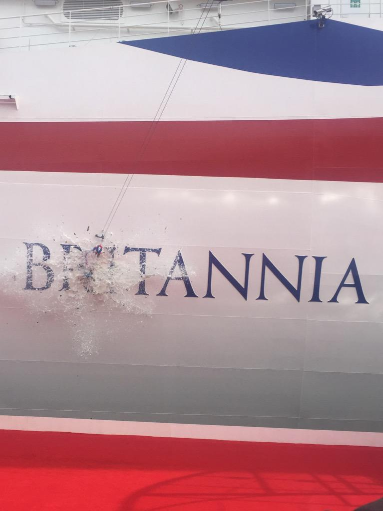 And it's official! #Britannia http://t.co/HEHLenDcmg