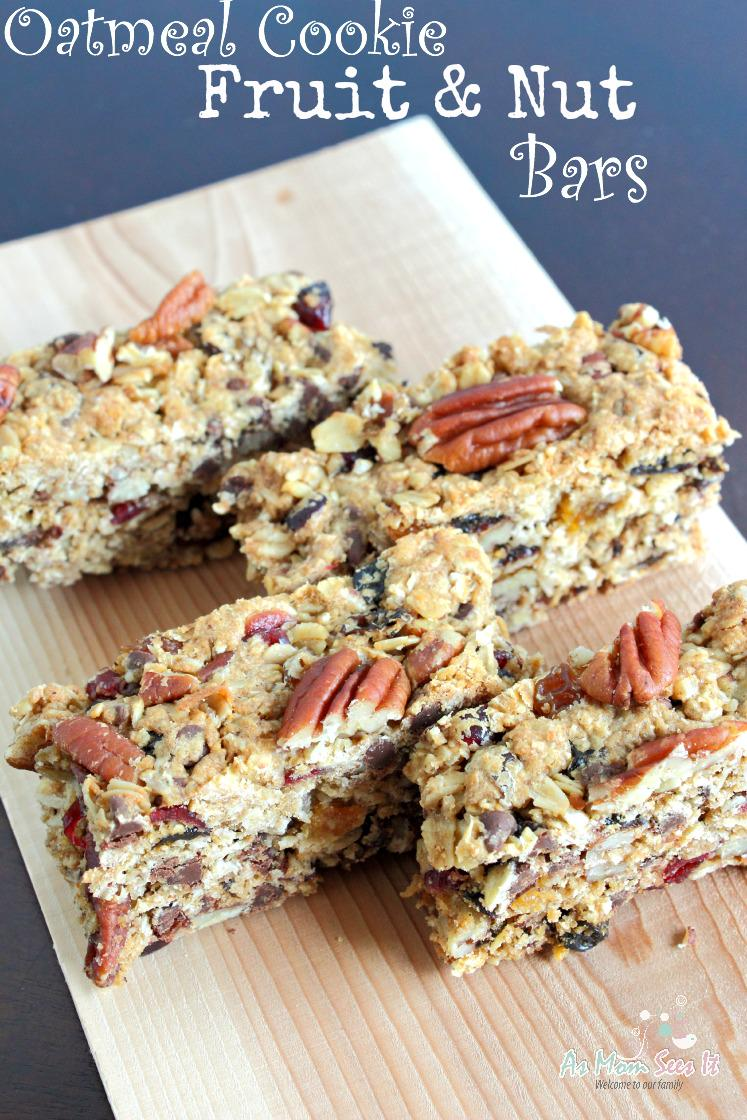 The perfect after school or #travel snack! Oatmeal Cookie Fruit And Nut Bars #Recipe http://t.co/0g59PaTV1n http://t.co/sftTpMQQ6S