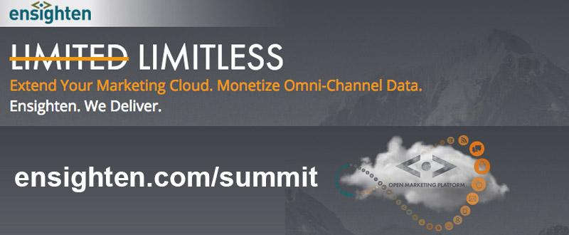 Extend Your Adobe Marketing Cloud & Monetize Omni-Channel Data with @Ensighten. http://t.co/cEcgE7UvJR #AdobeSummit http://t.co/QAterUgG4Z