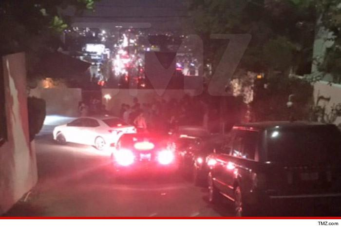 Cops shut down MASSIVE rager thrown by James Bond's son