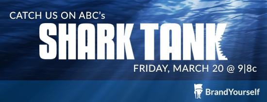 EXTREMELY EXCITED to announce that @Brandyourself will be on Shark Tank on Friday 3/20 at 9/8c! #sharktank http://t.co/WivNZhSB6a