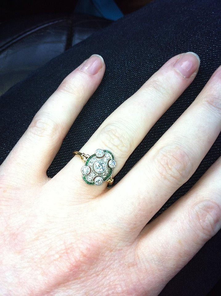 Please RT, mate had vintage engagement ring stolen from Dublin home by [dirty] thieves, may be sold into pawn shop. http://t.co/io5sHN977l