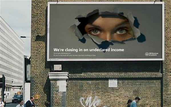 The UK government's unironic embrace of Orwellian imagery is really something. http://t.co/11BvAZCUL8