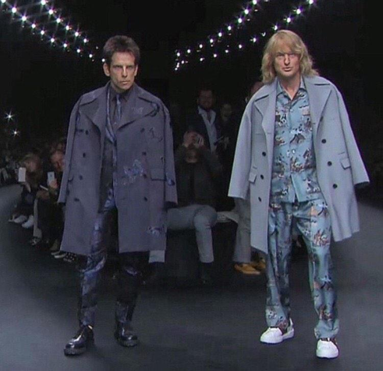 I still cannot believe the Zoolander thing at @MaisonValentino today. Genius. http://t.co/34tHXh5uJd