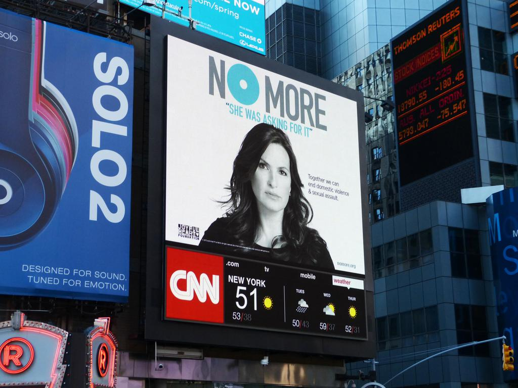 RT @NOMOREorg: ICYMI: thanks to @ccoutdoor, you can find @NOMOREorg on their billboards nationwide during #NOMOREweek! http://t.co/LET3Wgf4WE