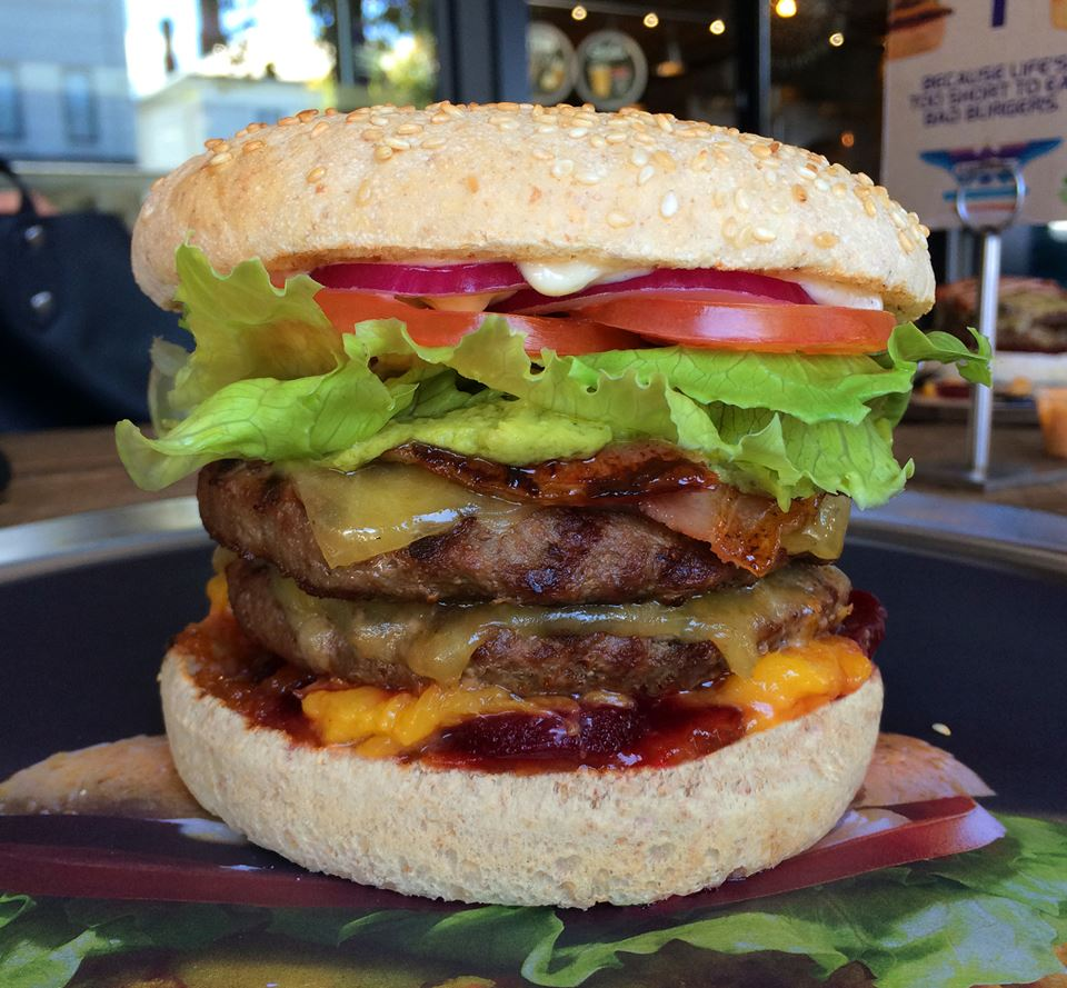 The Greedy Bastard, grandaddy of all burgers. For your double beef/double cheddar, limited time pleasure. http://t.co/WItGHYlggi