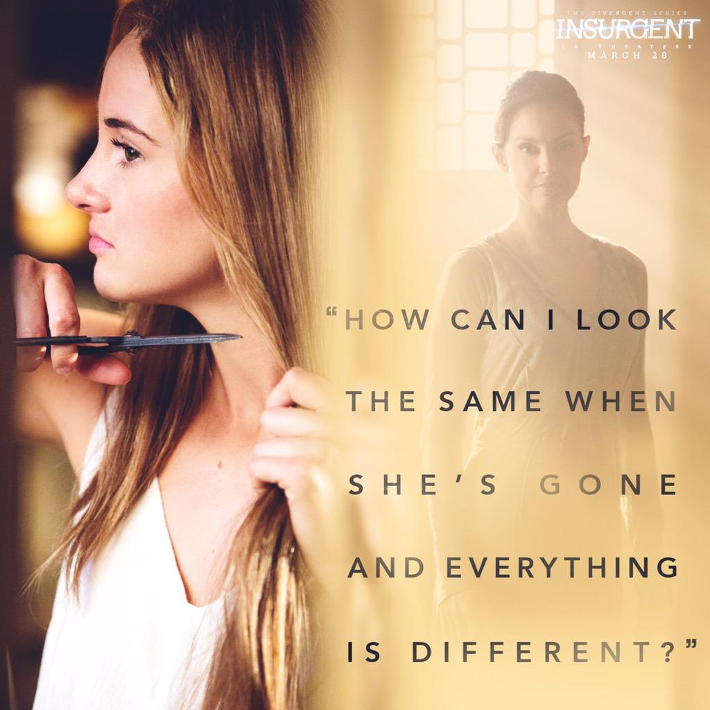 The relationship between Tris &  her mother #NataliePrior is powerful. Don't miss #Insurgent!!!  Proud to be in it. http://t.co/5neZIwAr3U