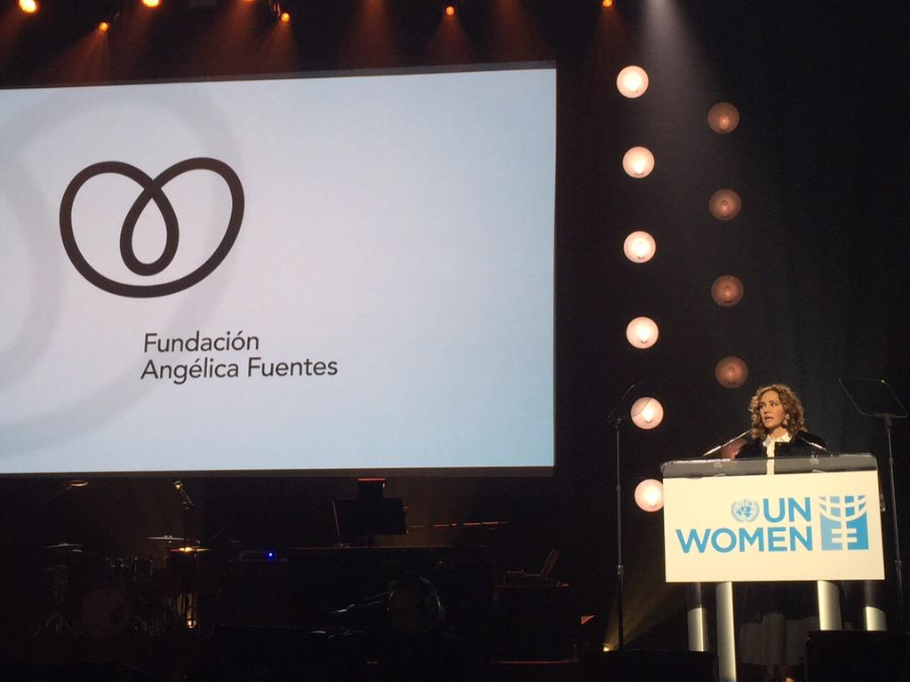 The @fundacion_af committed $1 million usd to @UN_Women to invest in three critical initiatives in #LaTam #Beijing20 http://t.co/SZPsz0pLCa