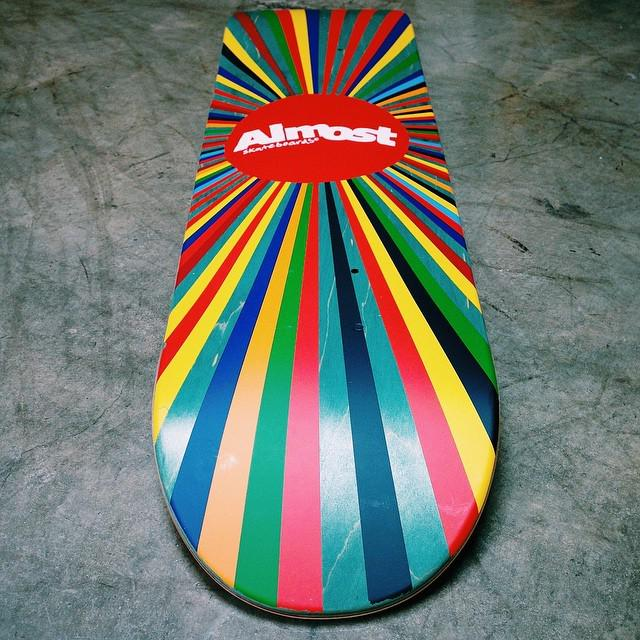 New batch of the Color Wheel logo boards are starting to ship❗️🙌 (7.5 and 8.0)  #SupportYourLocalSkateShop #AlmostS… http://t.co/5HrenXMOAg