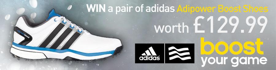 Follow & RT: For chance to #WIN pair of @adidasGolf Boost shoes! T&C's: http://t.co/2Pa32wqBDp winner picked 16/03/15 http://t.co/zMdQBGEKz6