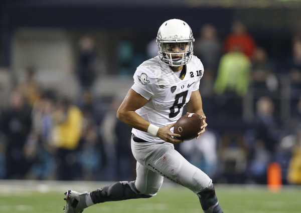 Per @ClaytonESPN the #Redskins will take Mariota if he's there at No. 5 http://t.co/9co21fUUQi #RedskinsTalk http://t.co/eL9oWBfQPv