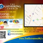 Join us for our 11:00AM Morning Worship Experience at our NEW location- 156 Passaic Street, Hackensack, NJ 07601 http://t.co/84OSDUQl9N