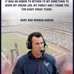 Twitter / @Nick_Mathews: Former #Texans coach Gary ...