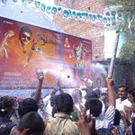 This is Called Real Mass Of #IlayaThalapathy Not even a teaser released but look at celebrations by fans #Jilla http://t.co/ghDeGunxMm