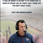 RT @ESPNNFL: Classy move by former Texans coach Gary Kubiak taking out an ad in todays Houston Chronicle >> http://t.co/yilNhE56pu